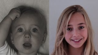 Download Portrait of Lotte, 0 to 13 years in 3 ½ minutes. Video