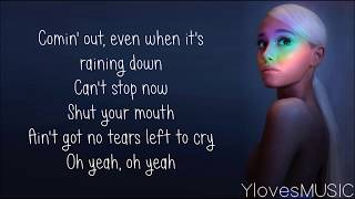 Download Ariana Grande - No Tears Left To Cry (Lyrics) Video