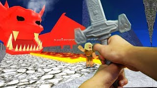 Download Realistic Roblox - ESCAPE THE DUNGEON AND DRAGON OBBY! Video