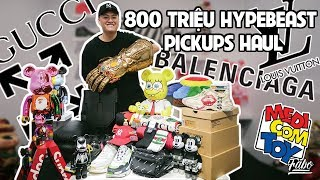 Download 800 Triệu Hypebeast Pickups Haul ( Gucci, Louis Vuitton, Balenciaga, Offwhite, Bearbricks...) Video
