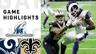 Download Rams vs. Saints NFC Championship Highlights | NFL 2018 Playoffs Video
