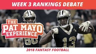 Download 2018 Fantasy Football — Week 3 Rankings, Starts, Sits, Sleepers and Busts Video