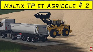 Download FS 15 / map Maltix tp + agricole / Episode 2 / W.I.P Video