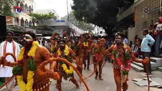 Download Maru Bonalu | 2017 | Potharaju Entry & Dance | Chary 143100 | P3 Video