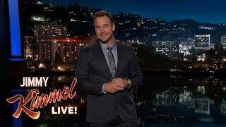 Download Chris Pratt's Guest Host Monologue on Jimmy Kimmel Live Video