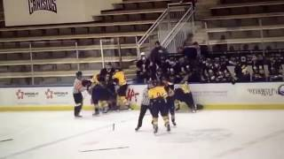 Download Former NHL player Andrew Peters punches 15 year old Video