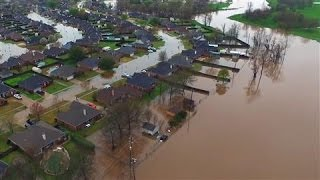 Download Drone Footage Shows Historic Flooding in Louisiana Video