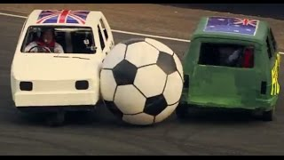 Download England Vs Australia: Reliant Robin Football | Top Gear Festival Sydney Video