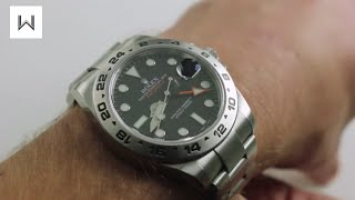 Download Rolex Oyster Perpetual Explorer II 216570 Luxury Watch Review Video