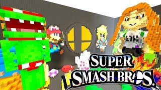 Download *NEW* SUPER SMASH BROS ULTIMATE! | Hide and Seek | Minecraft Switch Video