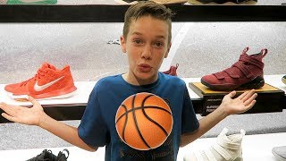 Download New Basketball Shoe Shopping 2018! Which Shoes Will He Get? 🏀👟 Video
