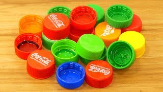 Download plastic bottle caps craft idea | best out of waste | plastic bottle caps reuse idea Video