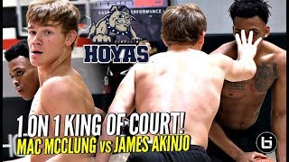 Download Mac McClung vs James Akinjo 1 on 1 King of Court! Future Teammates PUSHING Each Other To Get Better Video