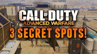 Download Advanced Warfare Glitches - 3 AMAZING Secret Spots on Solar, Retreat & Comeback! Video