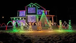 Download Trista Lights 2016 Christmas Light Show - Featured on ABC's The Great Christmas Light Fight Video