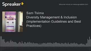 Download Diversity Management & Inclusion (Implementation Guidelines and Best Practices) Video