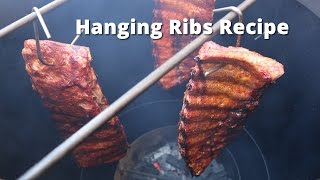Download How to Hang Ribs | Hanging Ribs on a Vertical Drum Smoker Video