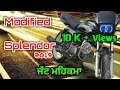 Download Splendor modified 2019 Punjab || modified splendor in Punjab || splendor modified by deep creation Video