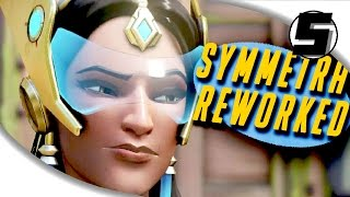 Download SYMMETRA REDESIGN ( FINALLY ) - Overwatch PTR Gameplay Update Video