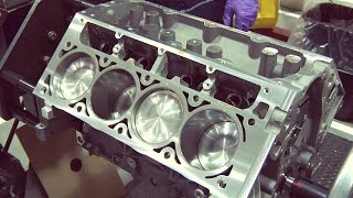 Download Chevrolet Corvette V8 Engine Assembly Video