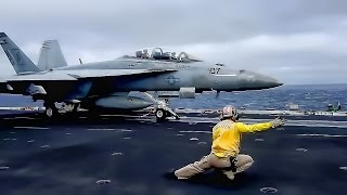 Download American Aircraft Carrier In Action • USS John C. Stennis Video