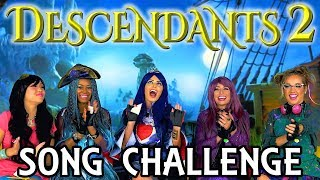 Download Descendants 2 Song Challenge with One Word Playlists. Totally TV Video