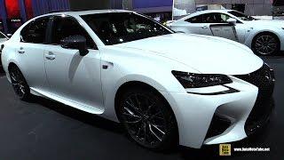 Download 2017 Lexus GS-F - Exterior and Interior Walkaround - 2016 LA Auto Show Video