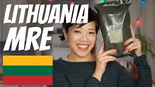 Download LITHUANIAN Military Ration Taste Test | Lithuania MRE Video
