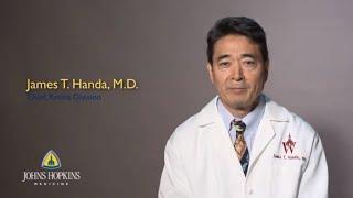 Download Dr. James Handa | Retina Ophthalmology Video