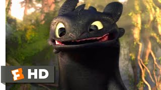Download How to Train Your Dragon - Making Friends With A Dragon Scene | Fandango Family Video