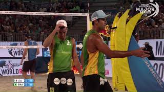 Download Lupo/Nicolai vs Pedro/Wanderley (Semifinals) FORT LAUDERDALE 2018 Video