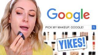 Download GOOGLE PICKS MY MAKEUP CHALLENGE! Video
