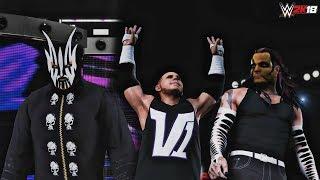 Download WWE 2K18 Hardy Boyz DLC Mods (Retro): Jeff Hardy 2008 & TNA Willow w/ Matt Hardy V1 & WM 26 (PC) Video