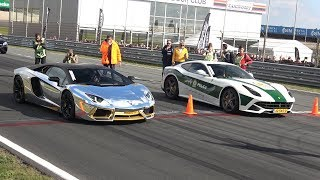 Download Lamborghini Aventador LP700 vs Ferrari F12 berlinetta Video
