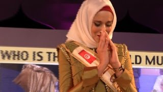 Download Tunisian wins Muslim beauty pageant, calls for free Palestine Video