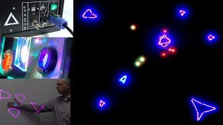 Download Laser Games - Like a giant colour Vectrex that can blind you Video