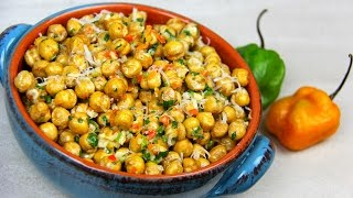 Download Fried Channa (spicy chickpeas snack) - Tasty Tuesday's | CaribbeanPot Video