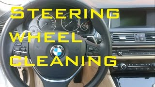 Download Steering wheel cleaning BMW Video