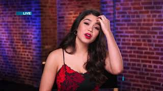 Download Aulii Cravalho - talking about RISE and kissing on screen Video