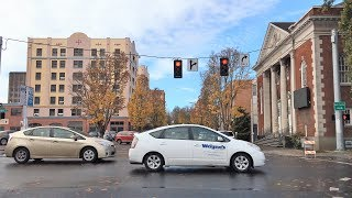 Download Driving Downtown - Eugene 4K - Oregon USA Video