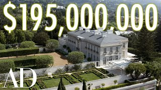Download Inside a $195 Million Bel Air Estate With Secret Tunnels | On the Market | Architectural Digest Video