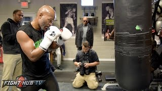Download Hopkins vs. Smith - Bernard Hopkins' FULL Heavy Bag Workout Video