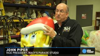 Download Behind the scenes of Macy's Thanksgiving Day Parade Video