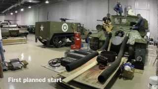 Download T-34-85 first engine start Video