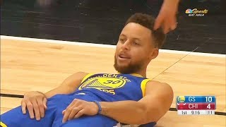 Download Stephen Curry Gets SHUT DOWN By Lauri Markkanen & Gets Hit In The Face With Ball! Video