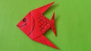 Download Cara Membuat Origami Ikan Hias | Origami Binatang Video
