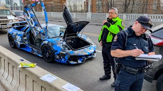 Download CANADIAN POLICE USE UNLAWFUL TACTICS ON LAMBORGHINI OWNERS! Video