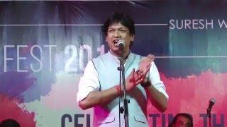 Download Vijay Prakash | classical fusion | Ajivasan Fest 2015 Video