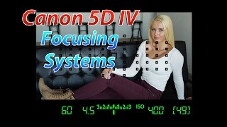 Download Canon 5D IV Tutorial Training | Focusing Systems | Canon 5D4 Video