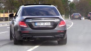 Download 2017 Mercedes-AMG E63 S - Revs, Acceleration & Drag Racing! Video